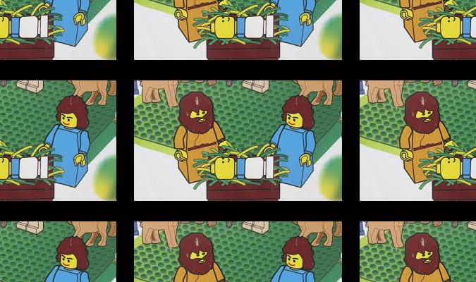 art versus life 4 - lego art - this one