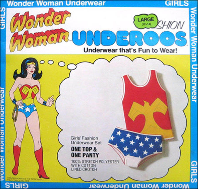 Adult Wonder Woman Underoos 76
