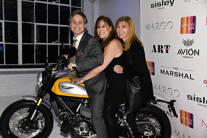 Jason Binn, Sande Finkel, Nicole Miller photo by Rob Rich/SocietyAllure.com © 2015 robwayne1@aol.com 516-676-3939