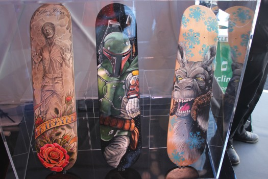 Skateboard fan art.