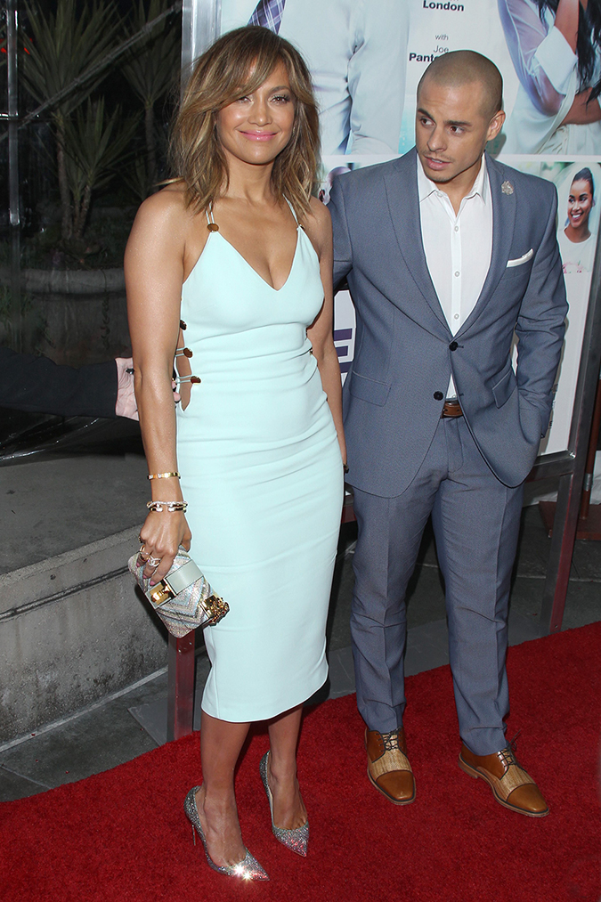 "Hollywood, CA - Hollywood, CA - Jennifer Lopez and Casper Smart at the premiere of ""The Perfect Match"" at ArcLight Hollywood. AKM-GSI 6 MARCH 2016 To License These Photos, Please Contact : Maria Buda (917) 242-1505 mbuda@akmgsi.com or Steve Ginsburg (310) 505-8447 (323) 423-9397 steve@akmgsi.com sales@akmgsi.com"