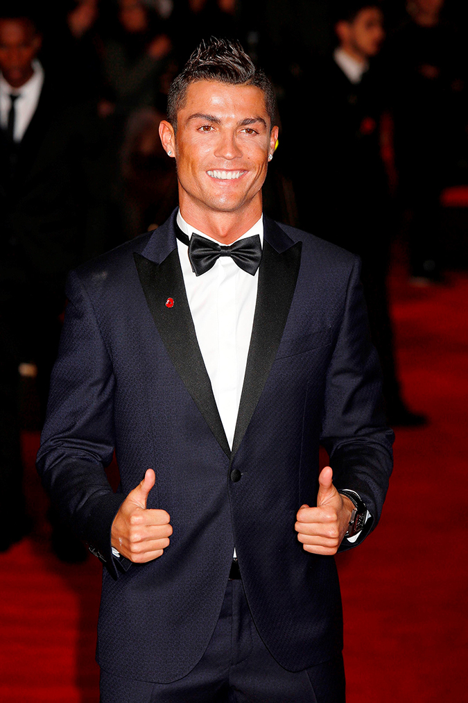 "** RESTRICTIONS: ONLY UNITED STATES ** London, UNITED KINGDOM - **USA ONLY** London, UK - Cristiano Ronaldo at the World Premiere of ""Ronaldo"" at Vue West End in London. 11/09/2015 Copyright © 2014 AKM-GSI, Inc. To License These Photos, Please Contact : Maria Buda (917) 242-1505 mbuda@akmgsi.com or Steve Ginsburg (310) 505-8447 (323) 423-9397 steve@akmgsi.com sales@akmgsi.com"