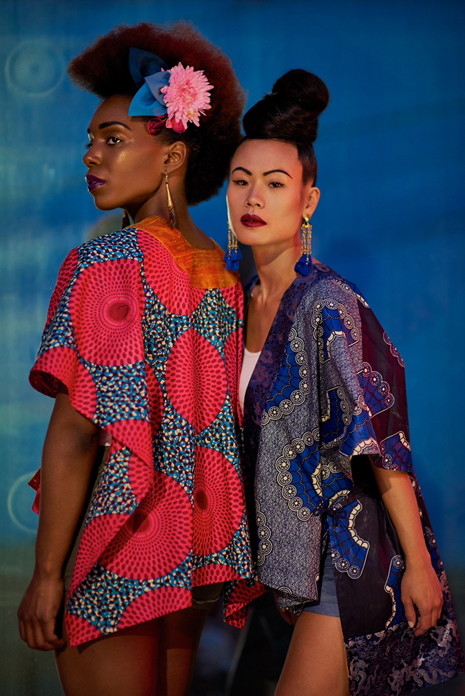 Ruth and Bennu for Urban Geisha for Kimera Designs, Photo by ©Kristen Walther