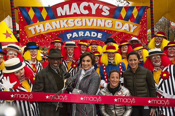 20161124©DayMacyPrde6490.jpg The 90th Macy's Thanksgiving Day Parade kicked off under cloudy skies and cool temperatures as hundreds of thousands line the parade route to celebrate the clowns, floats, and balloons fly by, starting the holiday season in New York City.