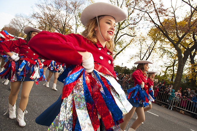20161124©DayMacyPrde8291.jpg The 90th Macy's Thanksgiving Day Parade kicked off under cloudy skies and cool temperatures as hundreds of thousands line the parade route to celebrate the clowns, floats, and balloons fly by, starting the holiday season in New York City.
