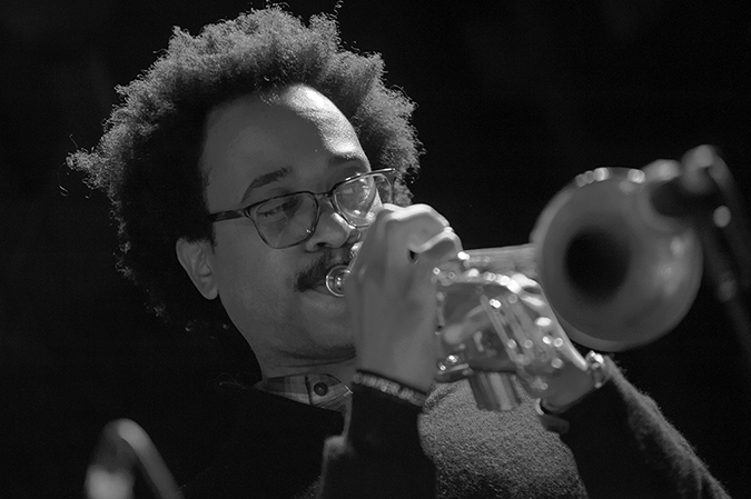 20170106©DayJazzFest1535.jpg The 13th Anual Winter JazzFest played over a snowy weekend from January 5th- January 10. Johnathan Finlayson performing Friday night at SOBs with Steven Bernstein's Universal Melody Brass Band.