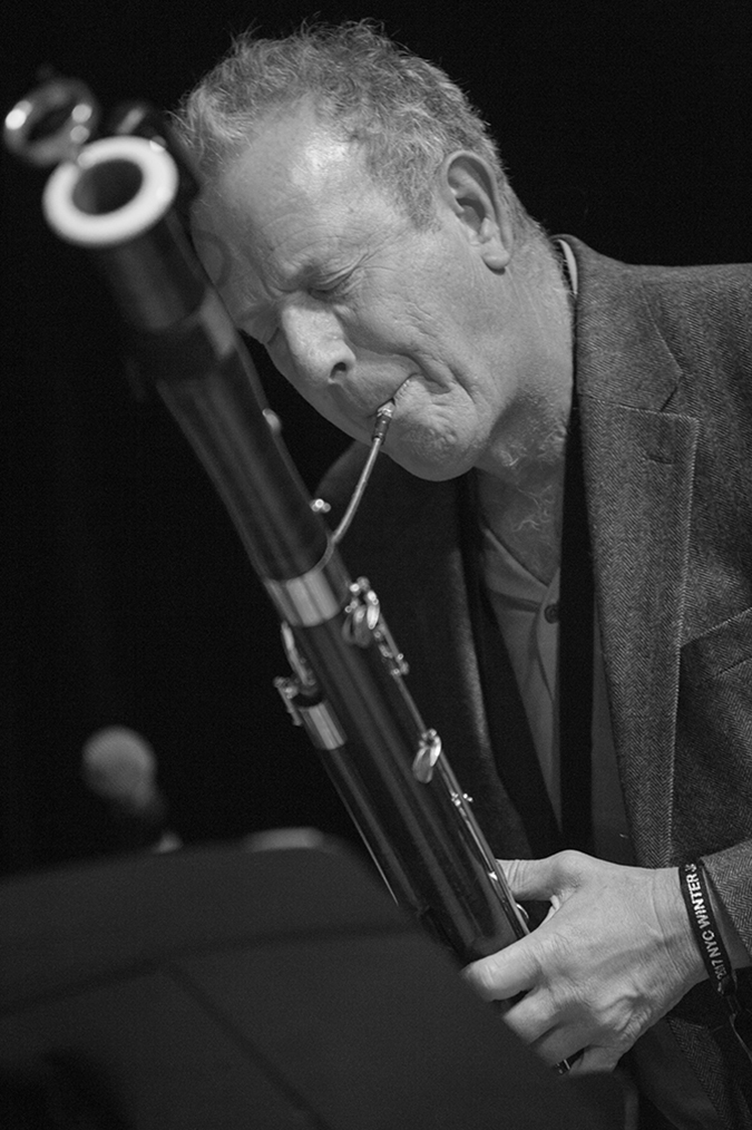 20170107©DayJazzFest1968.jpg The 13th Anual Winter JazzFest played over a snowy weekend from January 5th- January 10. Mike Rabinowiitz/ Joe Fonda Quintet performing Saturday night at the New School Auditorium.