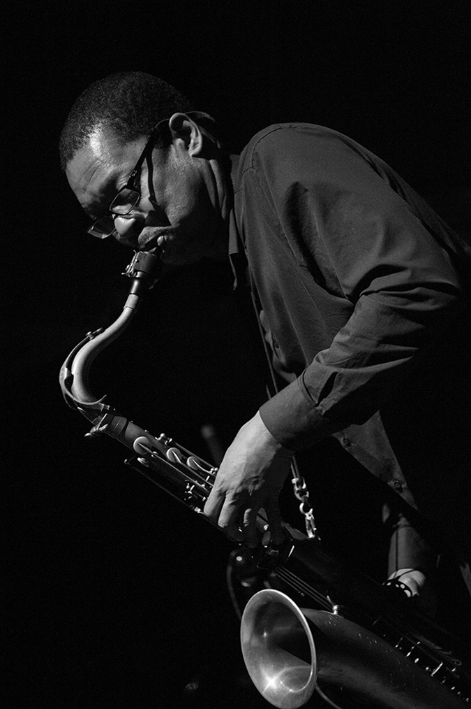 20170107©DayJazzFest2450.jpg The 13th Anual Winter JazzFest played over a snowy weekend from January 5th- January 10. Ravi Coltrane performing Saturday night at the New School Tishman Auditorium.
