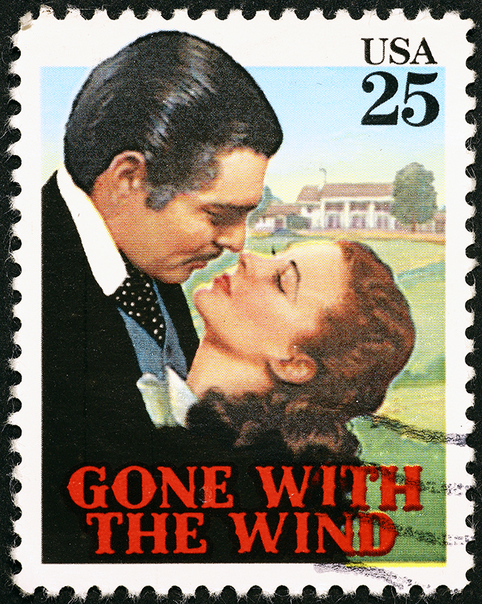 clark gable stamp