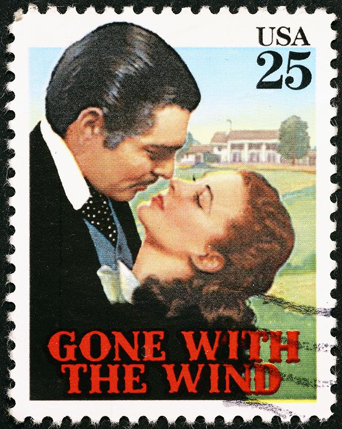 clark gable stamp