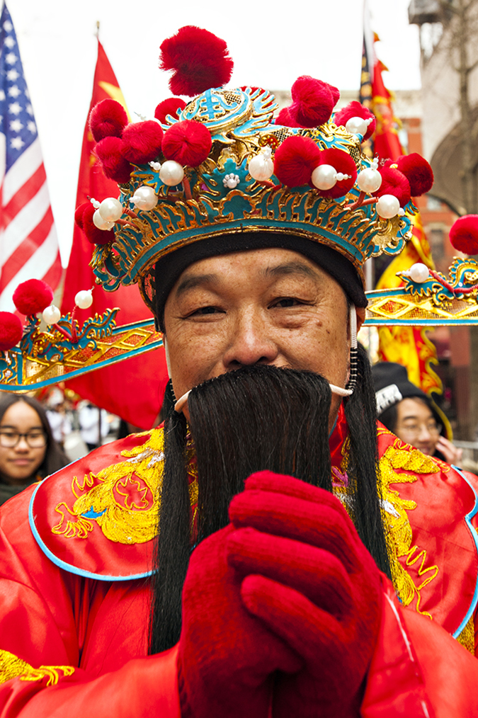20170205©DAYLunarNewYear4587.jpg Thousands of performers and spectators celebrate The Year of the Fire Rooster during the 18th Annual Lunar New Year festivities in Manhatan Chinatown.
