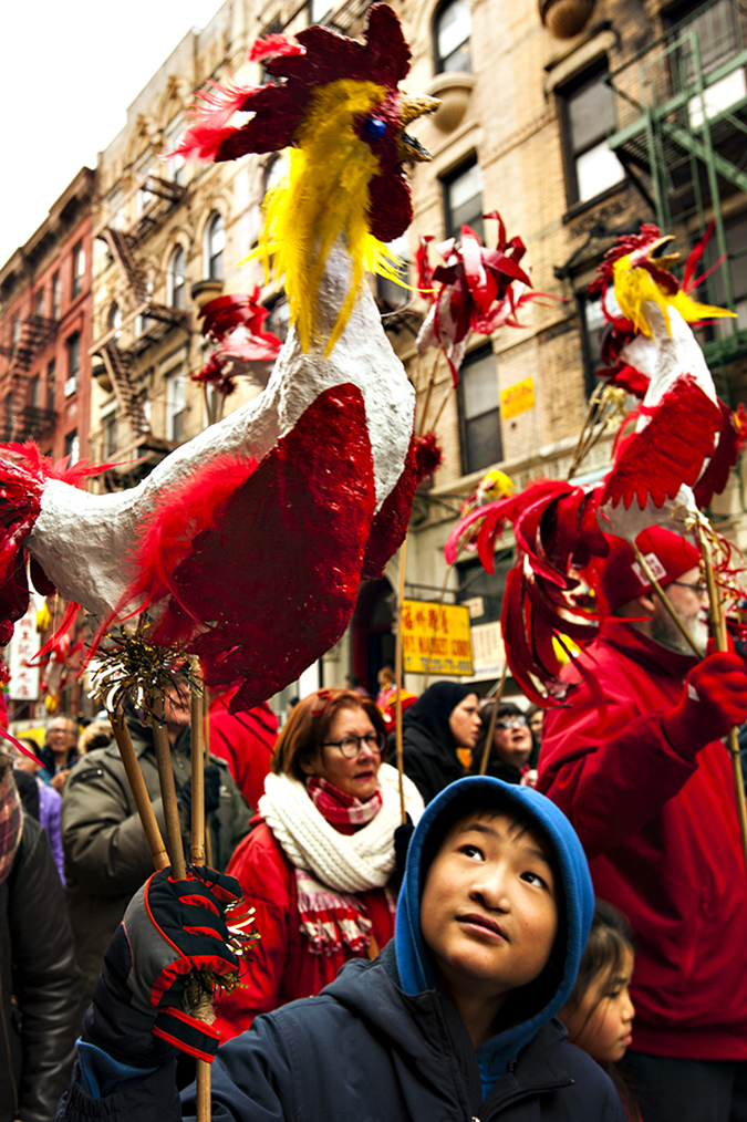 20170205©DAYLunarNewYear4894.jpg Thousands of performers and spectators celebrate The Year of the Fire Rooster during the 18th Annual Lunar New Year festivities in Manhatan Chinatown.