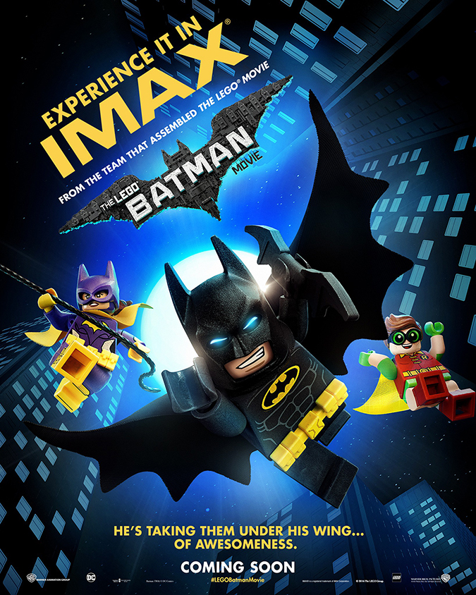 batman lego movie poster