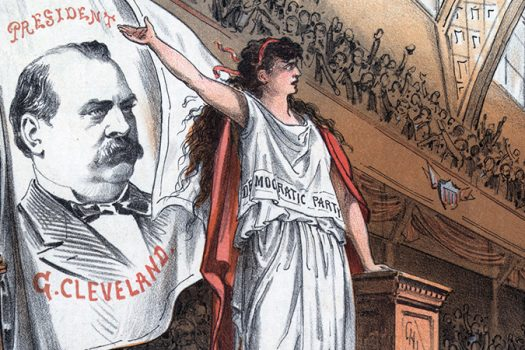 grover cleveland cartoon