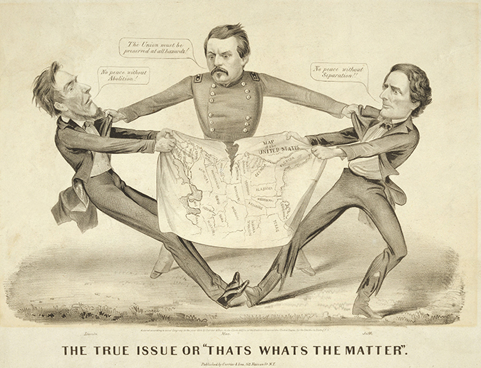 jefferson davis cartoon