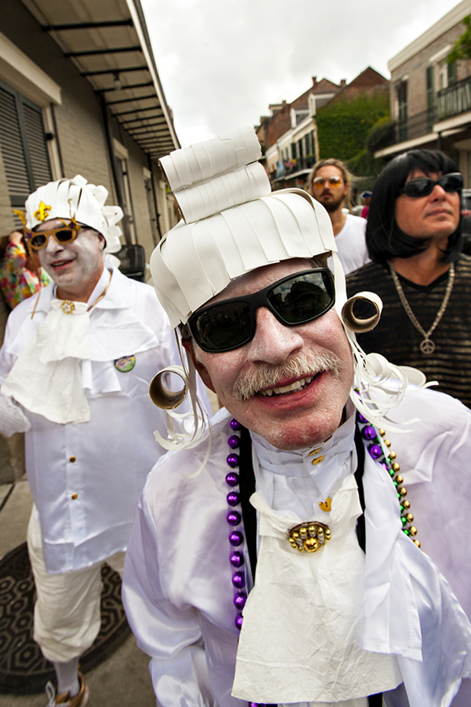 20170228©DayMardiGras1099.jpg Millions lined the parade routes as the last weekend of New Orleans Mardi Gras rolled under warm sunny days delighting the throngs with tons of beads.