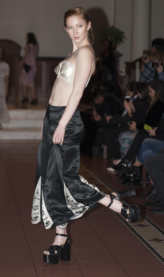 Studio 842 - Nina Dornheim fashion show at The Set NYC on Feb. 9, 2017.
