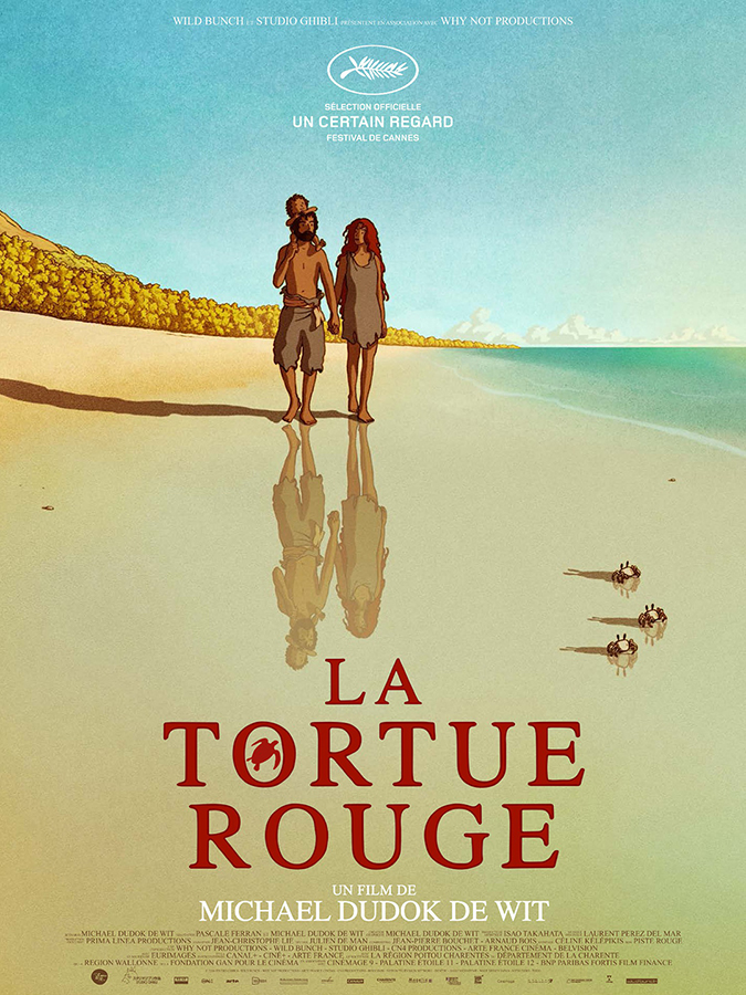 red turtle poster