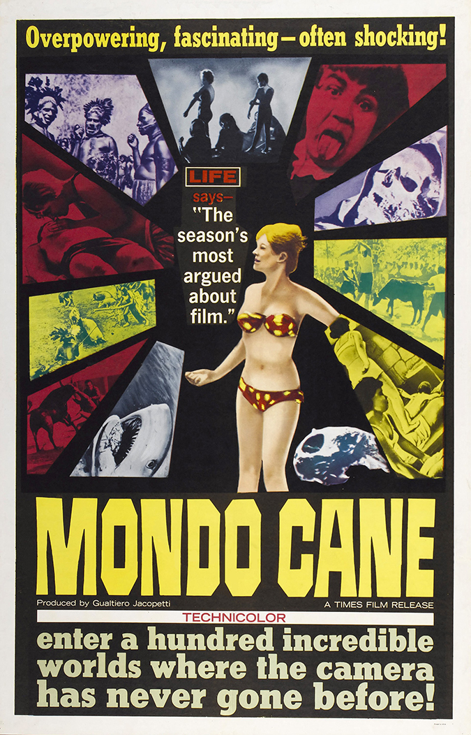 mondo cane movie poster