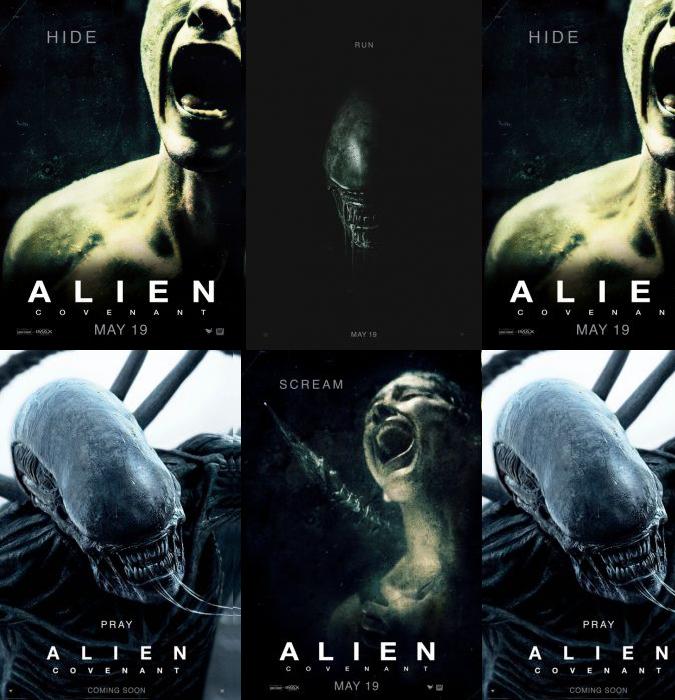 alien posters