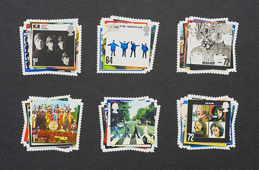 beatle stamps