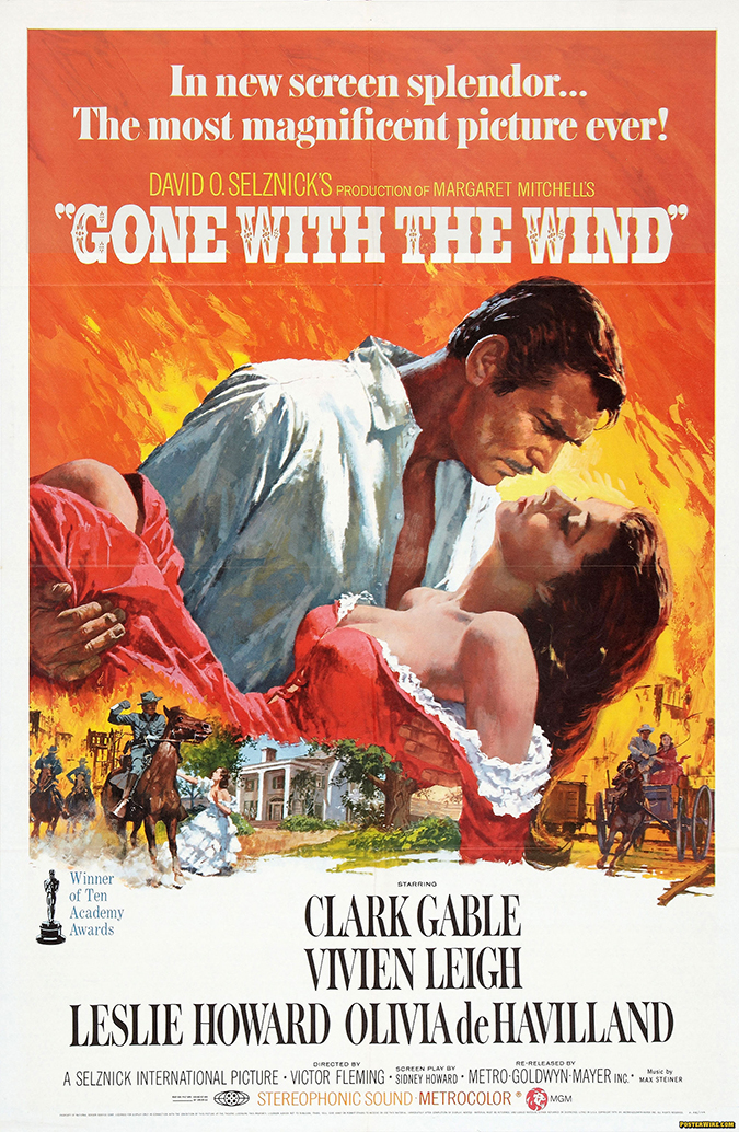 movie ember gone with the wind poster