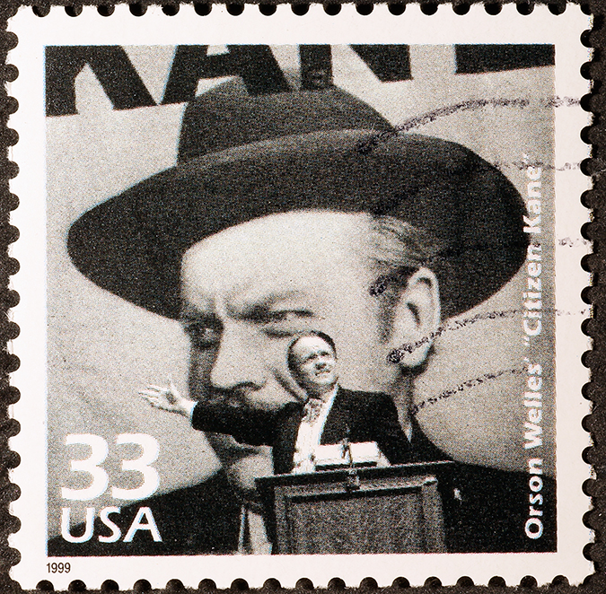 orson welles stamp