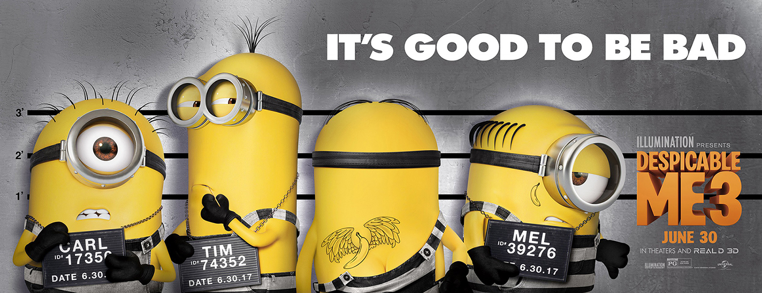 despicable me 3 poster