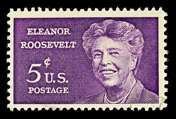 eleanor roosevelt postage stamp