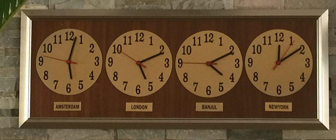 banjul clock gambia