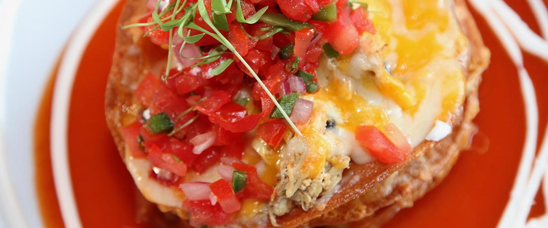 deconstructed enchilada union cantina