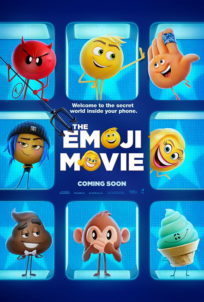 emoji movie poster embed