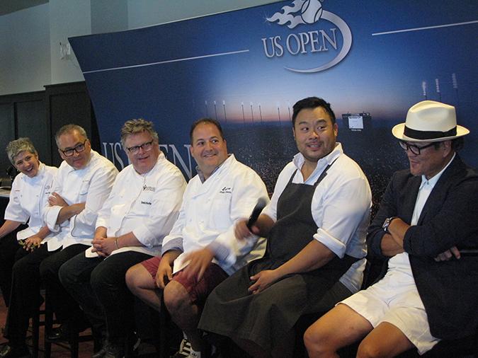 2017 us open chefs