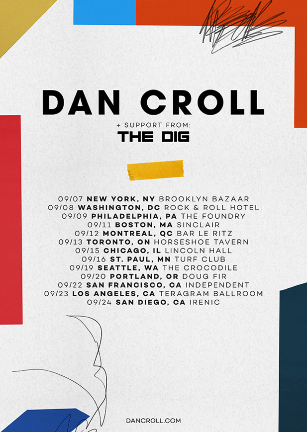 dan croll tour schedule embed