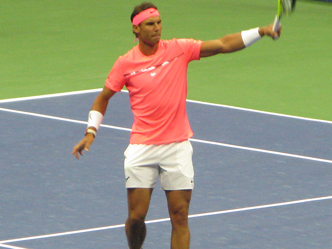 nadal first round win 2017 us open