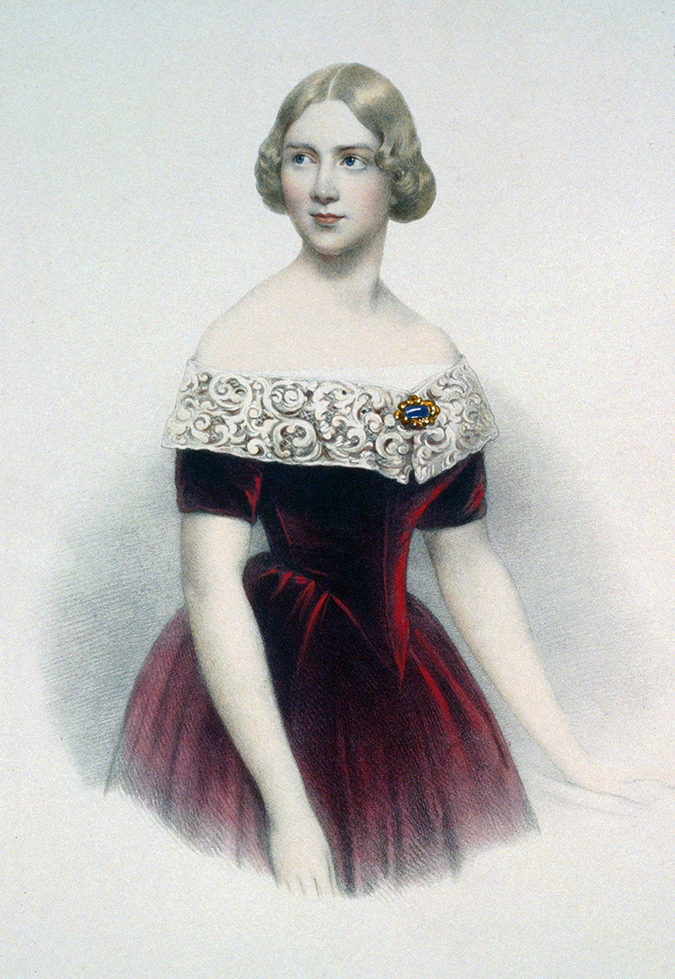 jenny lind portrait this day in history shutterstock
