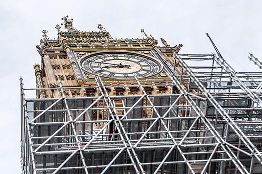 big ben scaffolding shutterstock