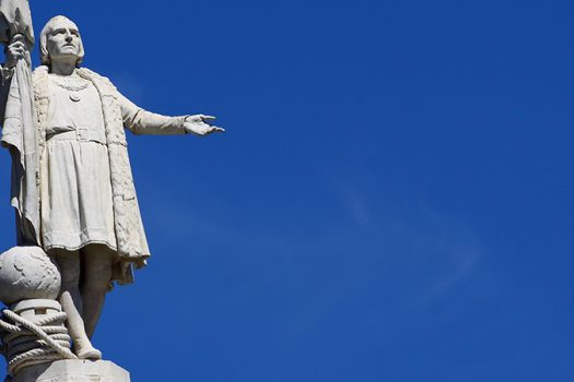 christopher columbus statue shutterstock