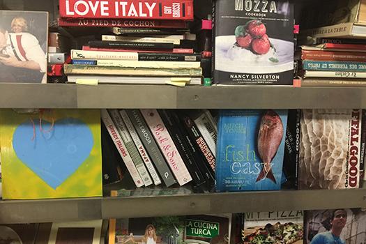 Italy Bookshelf