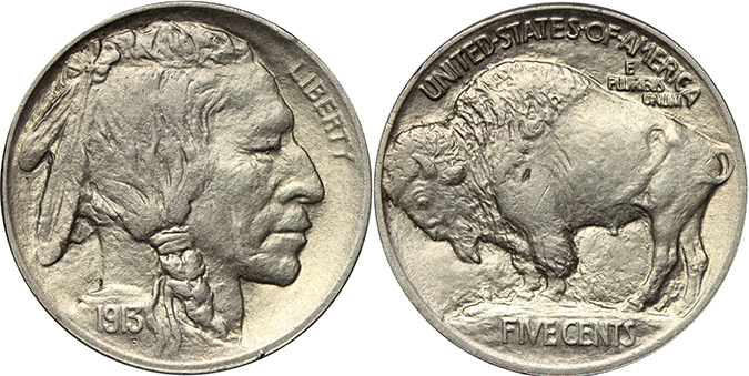 buffalo nickel shutterstock