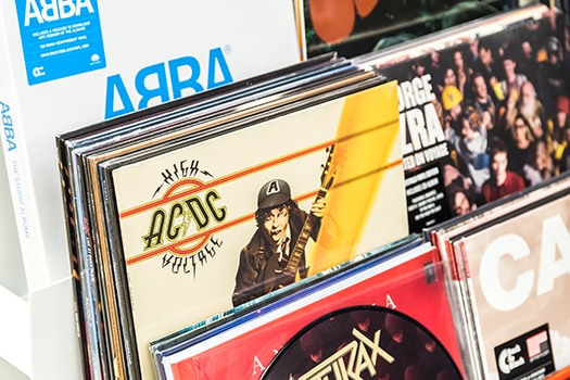 abba vinyl shutterstock