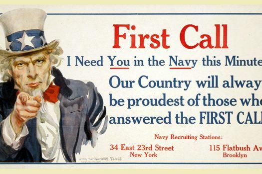 first call poster flagg shutterstock