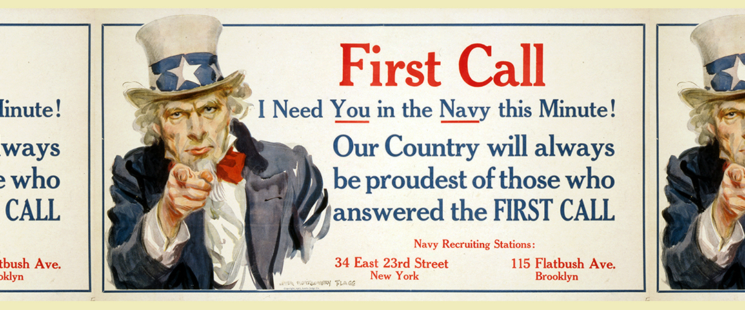 first call poster flagg shutterstock