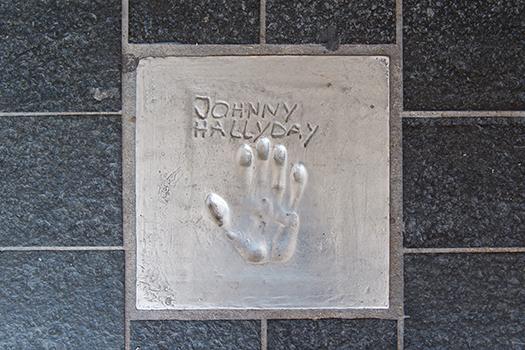 johnny hallyday print shutterstock