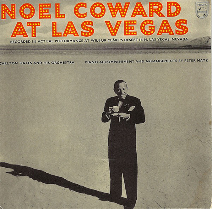noel coward live at las vegas 45cat philips