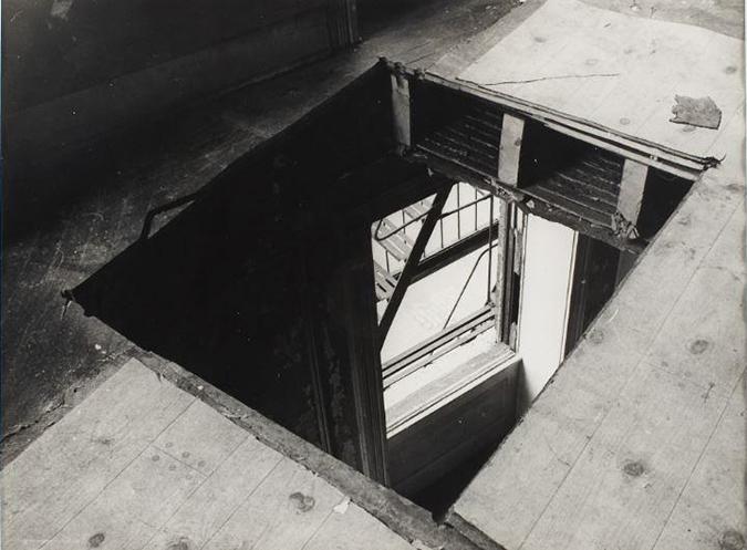 Matta Clark Bronx Floor 1973 Bronx Museum