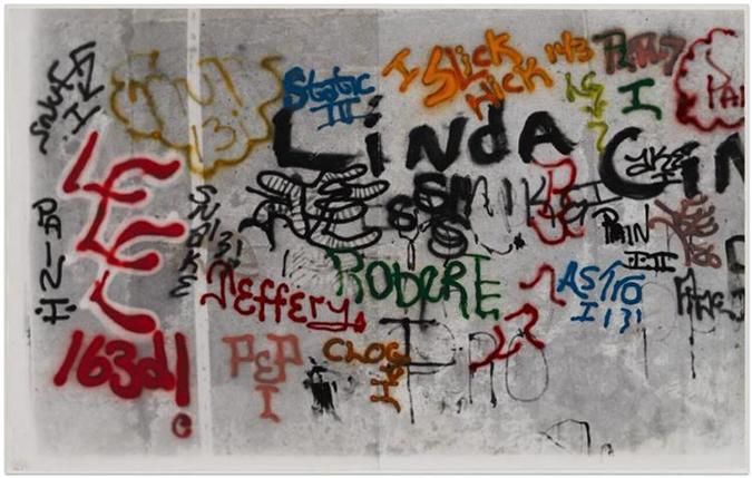 Mattta Clark Graffiti Bronx Museum