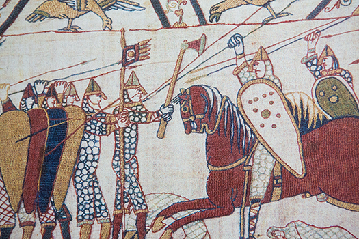 bayeux tapestry shutterstock