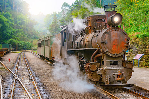 china steam train