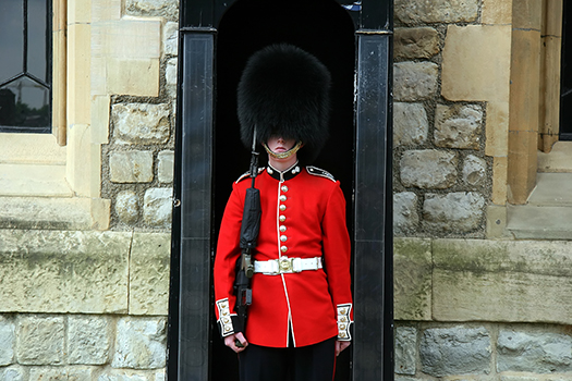 queen's guard shutterstock